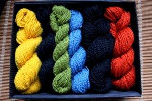 画像2: ミトンの手編みキット 8 (ラトガレ地方2)