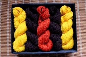 画像2: ミトンの手編みキット 6 (ヴィゼメ地方2)