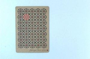 画像1: ポストカード(太陽の文様)