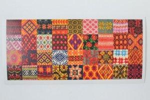 画像2: ポストカード(ニットのパターン 長方形)