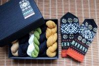 ミトンの手編みキット 1 (クルゼメ地方1)