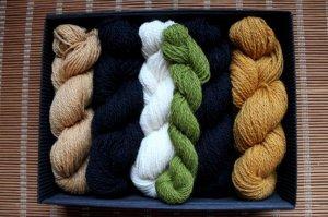 画像2: ミトンの手編みキット 1 (クルゼメ地方1)