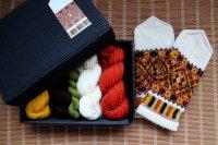 ミトンの手編みキット 4 (ゼムガレ地方2)