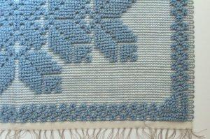 画像1: 手織りのマット B