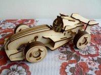 白樺模型 スポーツカー