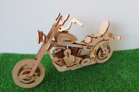 白樺模型 バイク