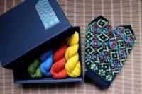 ミトンの手編みキット 2 (クルゼメ地方2)