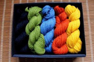 画像2: ミトンの手編みキット 2 (クルゼメ地方2)