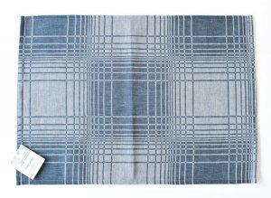 画像2: リネン・コットンのランチョンマット B-ブルー