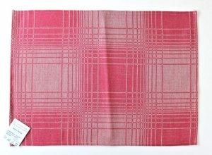 画像2: リネン・コットンのランチョンマット B-ピンク